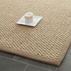Safavieh Natural Fiber Basketweave Sisal NATURAL Area Rugs - NF525B