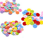 50x Round Resin Sewing Buttons Mix Scrapbook Cardmaking 23mm M0001