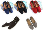 [TOMS] Genuine Womens Toms Classic Slip 5 Colors Canvas Flats, Ladies Pumps