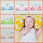 New BABY Safety Anti-roll Pillow Support Prevent Flat Head Cushion multi colours