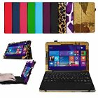 Folio Stand Case Cover for Nextbook 10.1 inches Windows 8.1 Tablet (NXW10QC32G2)