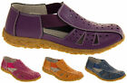 Womens COOLERS Leather Open Summer Sandals Ladies Comfort Shoes Size 4 5 6 7 8