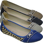 Fashion Womens Ballerina Ballet Dolly Ladies Pumps Slip On Flat Casual Shoes Loa