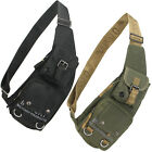 Travel Sport military Chest Hiking Shoulder messenger bag Sling Backpack men