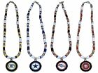"NFL Shell Necklace 18"" Natural Shell With Pendant - Pick Your Team $10.45 USD on eBay"