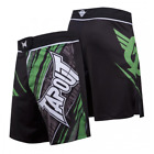 Tapout Performance Fight Shorts (Black/Green)