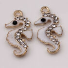 Hot!New 5/10Pcs Charm Silver Tibetan Pendants Sea Horse Jewelry Finding 20x9x2mm