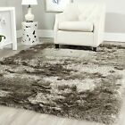 Safavieh Hand-Tufted Silken SABLE Shag Area Rugs - SG511-9292