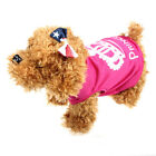 Pet Clothes Apparel Vest Costumes Summer Imperial Crown Printed Coat  Trendy