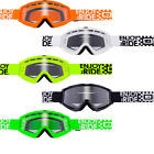 O'Neal B-Zero Motocross Goggle MX Off-Road Enduro Racing MTB Helmet Moto X Quad
