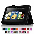Folio Stand Case Smart Cover for Amazon Kindle Fire HD 8.9 inch Tablet 21 Colors
