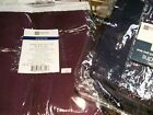 "JCPenney Supreme Pole Top Drapery Pair Curtain 80""W x 63""L to 108""L Solid Colors"