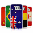 HEAD CASE VINTAGE FLAGS SET 1 SILICONE GEL CASE FOR SAMSUNG GALAXY S6 DUOS