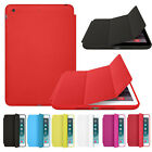 2015 Smart Case For iPad mini 1 2 3 Retina Slim Stand Leather Back Cover Trendy
