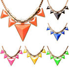 New Charm Pendant Chain Alloy Choker Chunky Statement Bib Necklace Jewelry #N33