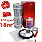 Electric Underfloor Undertile Heating Kit 200w 18m2 Thermopads FREE Delivery