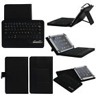 Universal Bluetooth Keyboard PU Leather Case Cover For Various 7  8  Tablet PC