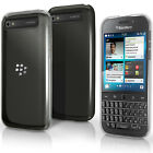 Brillante Custodia Gel TPU per BlackBerry Classic Q20 Morbida Cover + Pellicola
