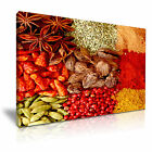 FOOD & DRINK Spice Pepper Canvas Framed Printed Wall Art 24 ~ More Size