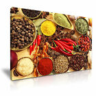 FOOD & DRINK Spice Pepper Canvas Framed Printed Wall Art 46 ~ More Size