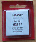 Hawid Stamp Mounts - Black & Clear. Large range of sizes. Each sold separately.