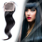 8A Brazilian 4x4 Freestyle Silk Base Top Lace Closure Human Hair Straight Weave