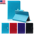 Hot Magnetic Universal Leather Slip Stand Full Cover Case For 9 Inch Tablet PC