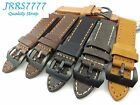 24mm Italy Genuina Leather Watch Strap Vintage Classic wristband variation new