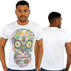 Ace Skull Print Fitted T-Shirt Urban life Monkey Business Hip Is Hop Money Time