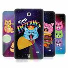 HEAD CASE CATS IN SPACE SILICONE GEL CASE FOR SAMSUNG GALAXY TAB 4 7.0 3G T231