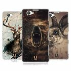 HEAD CASE POLY SKETCH SILICONE GEL CASE FOR SONY XPERIA Z1 COMPACT D5503