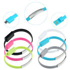 USB Charging Cable Line Bracelet For Samsung Galaxy S4 S5 For HTC Trendy