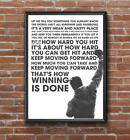 ROCKY BALBOA BOXING INSPIRATIONAL / MOTIVATIONAL POSTER / PRINT