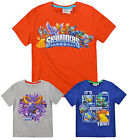 Boys Skylanders T Shirt Kids Short Sleeve Cotton Tee Top New Age 3 4 6 8 Years