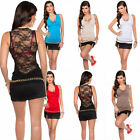 Sexy Women Ladies Top With Laced Back and Cowl Neck UK : 6 8 10