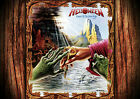 Helloween 3 Rock Band Album covers Poster Print  A4 A3