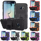 Slim Shockproof Tough Rubber Case Cover & Stand Samsung Galaxy S6