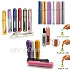 Refillable Perfume Aftershave Atomizer Miniature Bottle Travel Spray Scent Pump