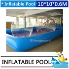 New Pvc Inflatable Pool For Water Walking Ball Zorb Ball And Other Games