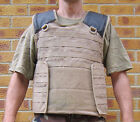 UK BRITISH ARMY SURPLUS DESERT TAN OSPREY SOLO BODY ARMOUR MOLLE VEST COVER G1