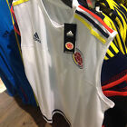 2015 SELECCION COLOMBIA NATIONAL TEAM FCF ADIDAS WHITE TANK TOP JERSEY (M62831)