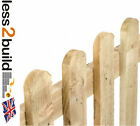 Treated Round Top Picket Fencing 6X3-6X4-6x6 Garden,Landscaping,DIY Projects