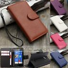 Flip Leather Card Slot Wallet Case Cover Stand For Nokia Microsoft Lumia 435 535