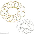 20PCs Jump Rings Jewelry Findings For Earring Necklace DIY 2.5cm 3.8cm 4.95cm