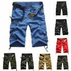 SH US Summer Mens Shorts Short Pants Casual Army Cargo Camouflage Loose Fashion