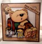 Handmade Greeting Card - Best Dad Ever Father's Day Card