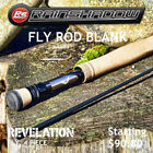 Rainshadow Revelation Fly Rod Blank 4 Piece