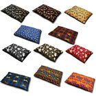 Cat / Dog Pet Bed Small Pillow Washable & Zipped choice of cover or filled