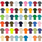 New GILDAN Unisex Adults Ultra Cotton Crew Neck T Shirt in 55 Colours S - 5XL