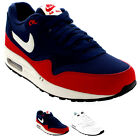 Mens Nike Air Max 1 Essential Suede Lace Up Original Running Trainers UK 7-13